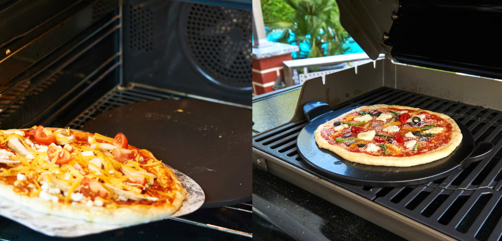 Pizza Grillen oder Backen