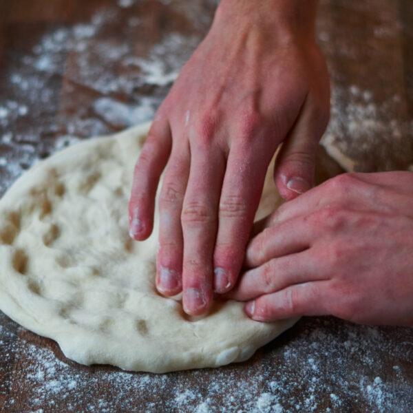 Pizzateig fluffig