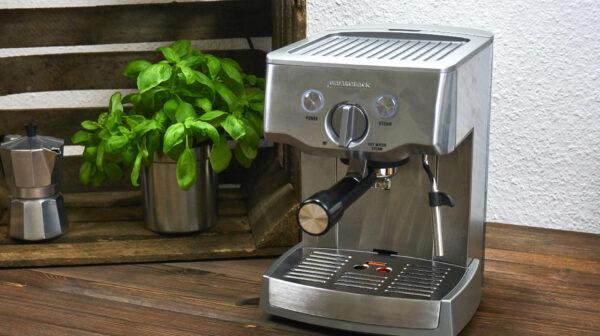 Siebträgermaschine für echten Espresso