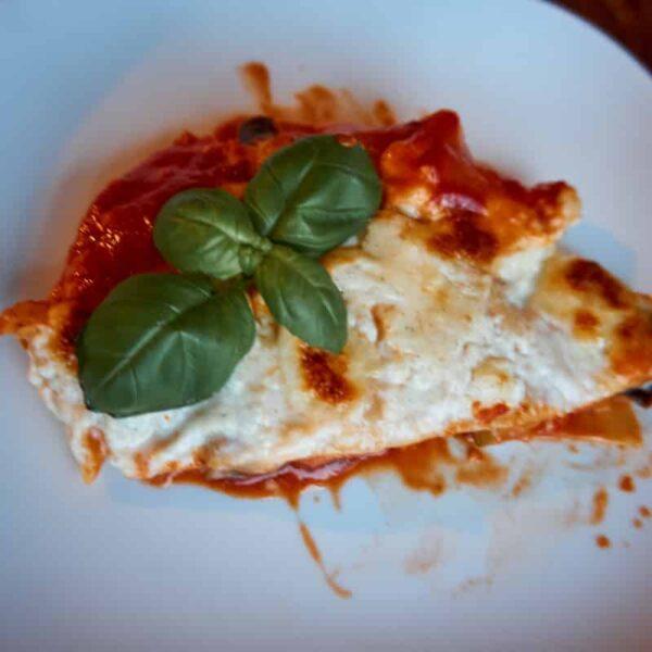 Fertige leckere Lasagne
