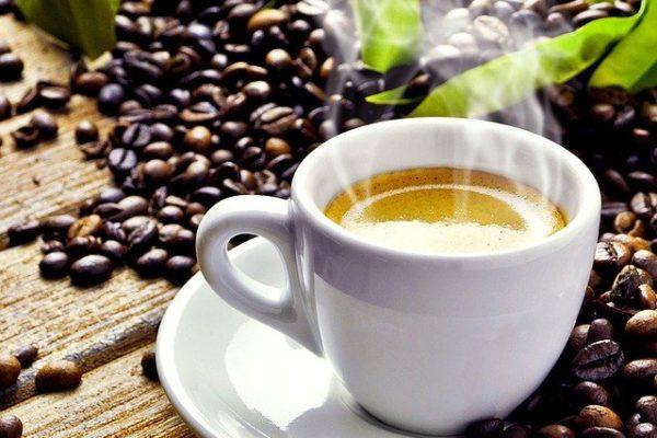 Leckerer frischer Espresso