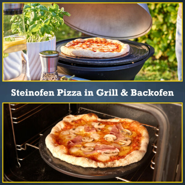 Pizzastein Backofen Grill
