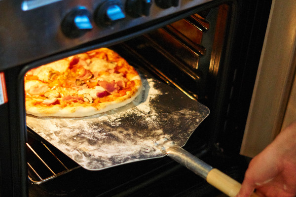 Pizzastein Anleitung für Backofen