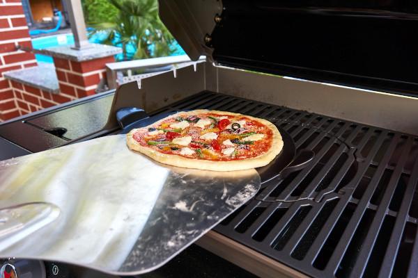 Pizzastein Anwendung