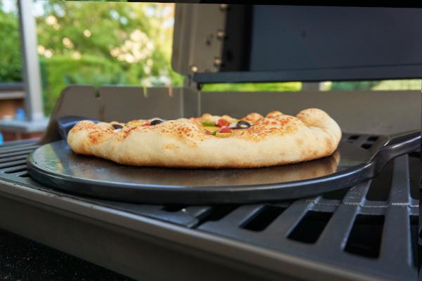 Pizzastein für den Gasgrill
