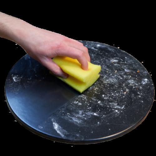 Pizzastein mit glasierter Oberfläche