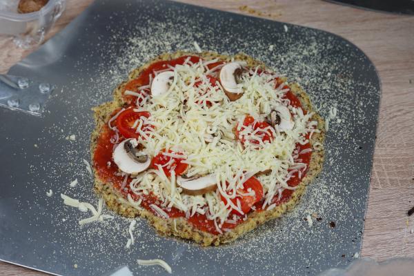 Low Carb Pizza Belag