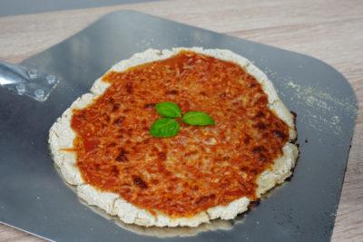 glutenfreie Pizza Margherita